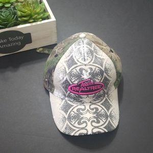 Women's bling Realtree baseball hat
